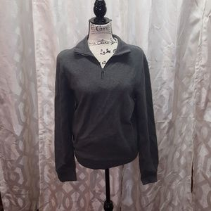 J crew vintage fleece quarter zip